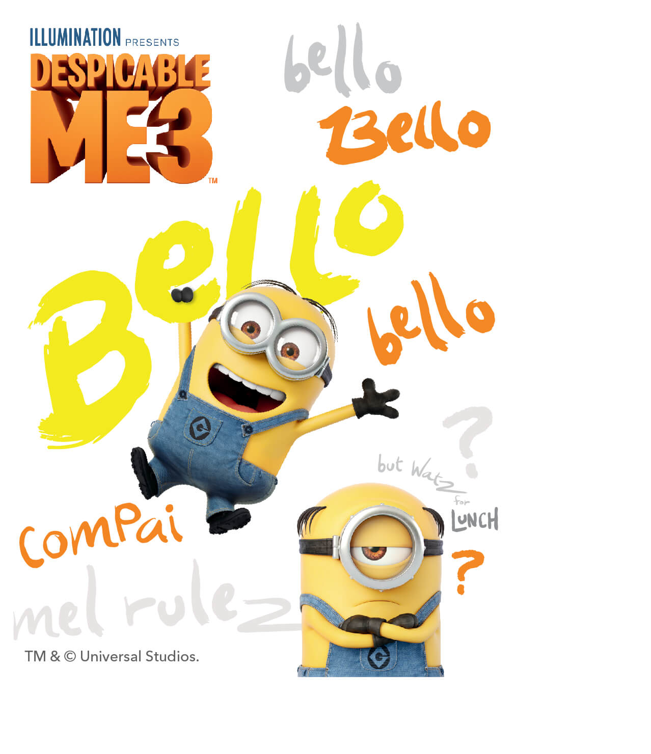 Free Despicable Me 3 Android And Iphone Wallpapers Clairesblog