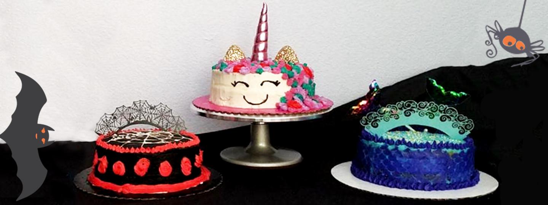 Halloween Cake Challenge with Maya! , ClairesBlog